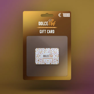 Gift Card €1000 Dolce Chef